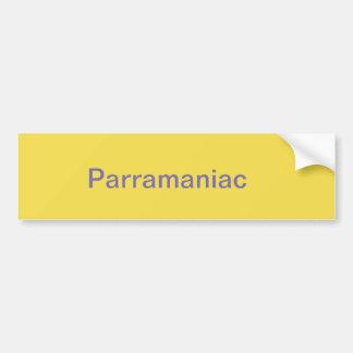 Parramatta supporter Bumper Sticker