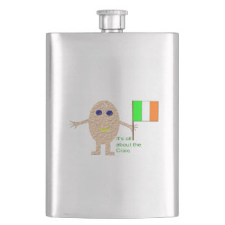 Parriotic Irish Egg Flasks