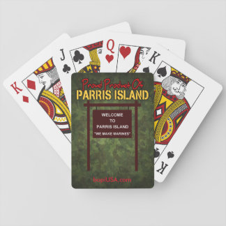 "Parris Island ""We Make Marines"" Playing Cards"