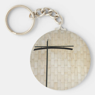 Parroquia del Patriarca San Abraham Basic Round Button Key Ring