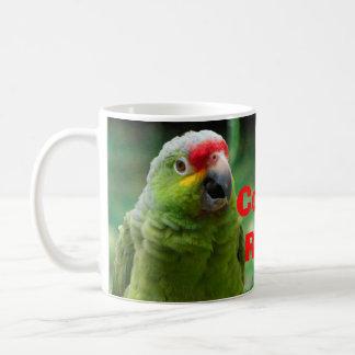Parrot and Frog Costa Rica Basic White Mug