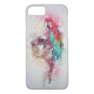 Parrot Apple iPhone 7, Barely There Phone Case