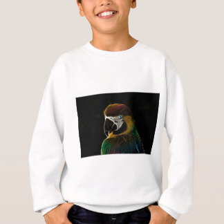 Parrot art sweatshirt