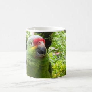 Parrot Basic White Mug