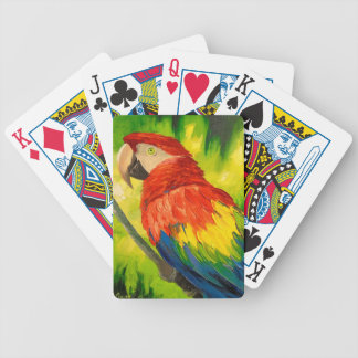 Parrot Bicycle Playing Cards