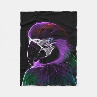 Parrot Bird Fleece Blanket