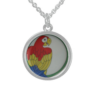 Parrot Bird Tropical Colorful Necklace