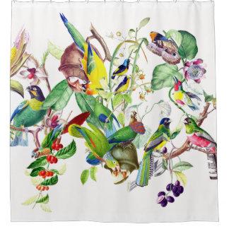 Parrot Birds Wildlife Animals Shower Curtain
