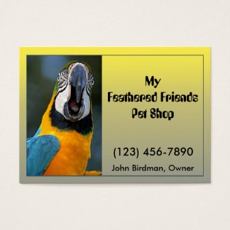 Parrot Business Card