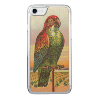Parrot Carved iPhone 8/7 Case