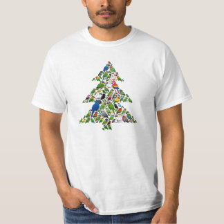 Parrot Christmas Tree T-Shirt