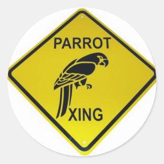 Parrot Crossing Bumper Sticker