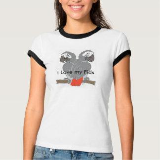 Parrot designer T Shirt
