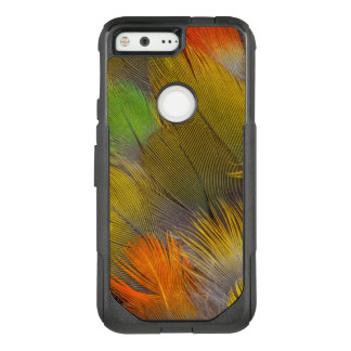 Parrot Feather Design OtterBox Commuter Google Pixel Case