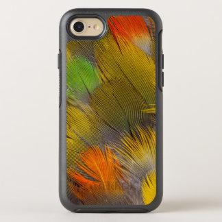 Parrot Feather Design OtterBox Symmetry iPhone 8/7 Case