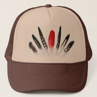 Parrot Feather II Hat