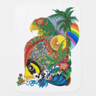 Parrot Fish Baby Blanquet Baby Blanket