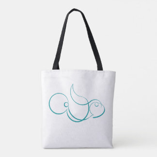 Parrot-Fish Tote Bag