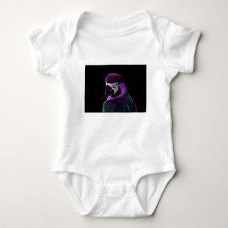 parrot fractal design range baby bodysuit