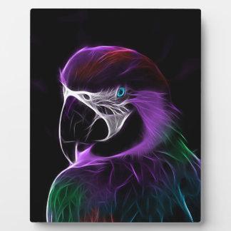 parrot fractal design range plaque