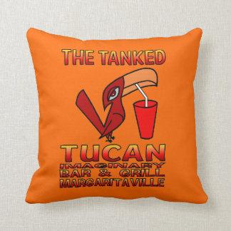 Parrot Head Throw Pillow. Cushion