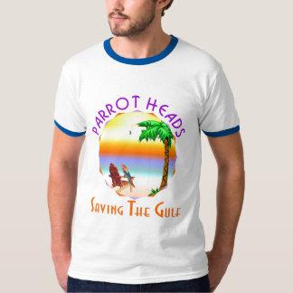 Parrot Heads Saving The Gulf from BP oil T-Shirt