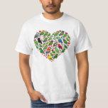 Parrot Heart Tee Shirts