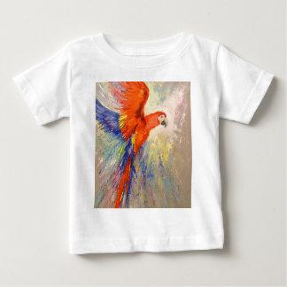 Parrot in flight baby T-Shirt