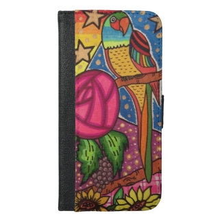 Parrot Jungle iPhone 6/6s Plus Wallet Case