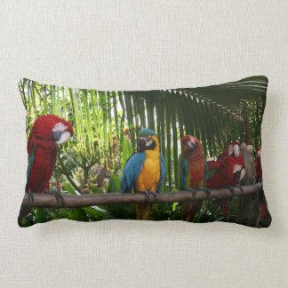 Parrot Line Lumbar Cushion