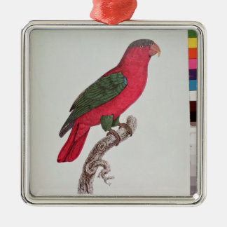 Parrot: Lory or Collared Christmas Ornament
