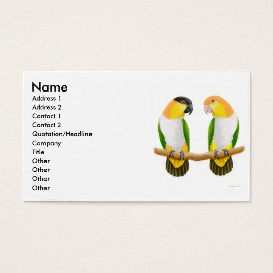 Parrot Love Profile Card