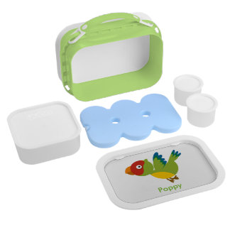 Parrot lunch box