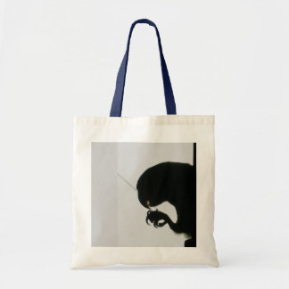 parrot monster tote bag