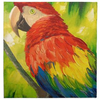 Parrot Napkin
