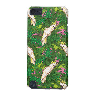 Parrot Pattern With Palm Leaves iPod Touch (5th Generation) Case