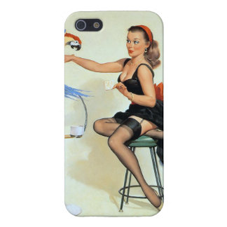 Parrot Pin Up iPhone 5/5S Cover