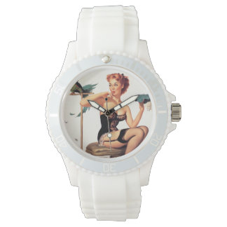 Parrot Pin Up Watch