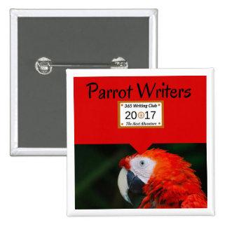 Parrot Pins! 15 Cm Square Badge