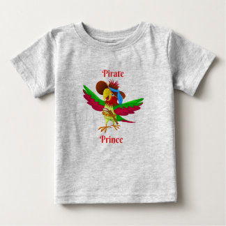 Parrot Pirate Prince Baby Fine Jersey T-Shirt