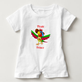 Parrot Pirate Prince Baby Romper Baby Bodysuit