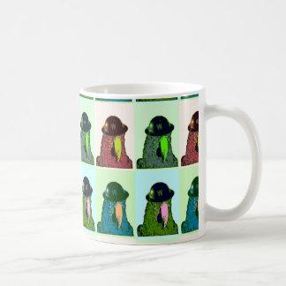 Parrot Poop Art Mug