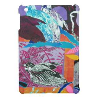 Parrot Print Collage Pattern iPad Mini Cases