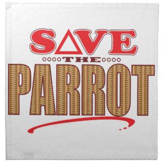 Parrot Save Napkin
