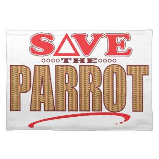 Parrot Save Placemat