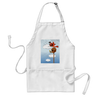 Parrot see, parrot do apron