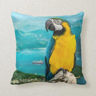 Parrot Square Pillow