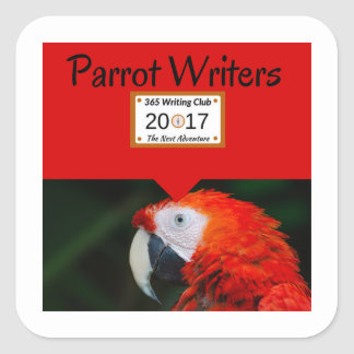 Parrot Stickers! Square Sticker