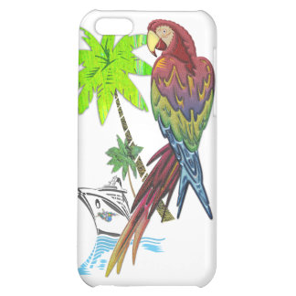 Parrot Tropical Cruise Case For iPhone 5C