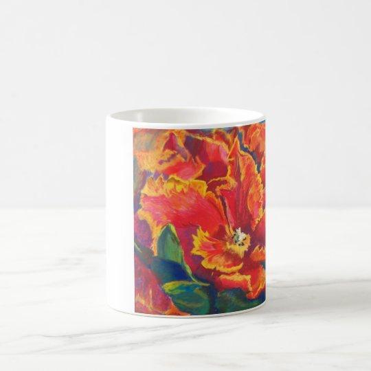 Parrot Tulip Dance Coffee Mug